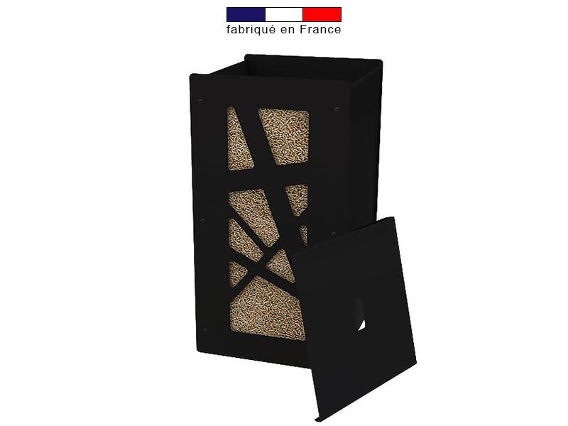 stocker des granul s de bois l 39 int rieur vente et. Black Bedroom Furniture Sets. Home Design Ideas